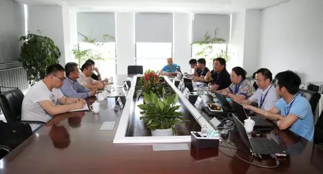 东南大学电力设计院,江苏低碳研究院领导联袂莅临朗坤